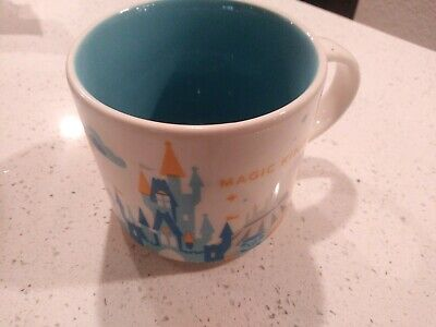 Starbucks Disney's Magic Kingdom You Are Here Coffee Tea Mug