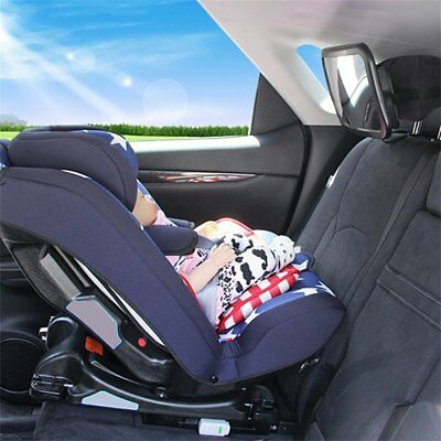 Adjustable Wide View Rear Baby Child Car Back Seat Safety Mirror Headrest Mo Re