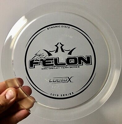 ICE Lucid X Felon Dynamic Disc Westside Golf Rare L64 Fairway Driver Latitude 64