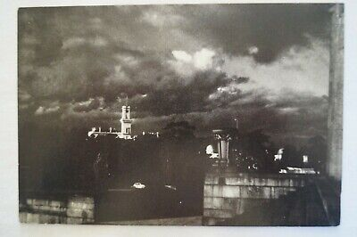 Olympic Games Collectable 1956 Melbourne Vintage Esko Postcard Sunset Melbourne