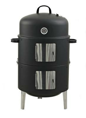 Fumeur XL 3 IN 1 Watersmoker Barbecue Grill Foyer de Cheminée Wagner RS400