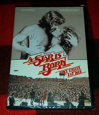 1976 A Star Is Born DVD Barbra Streisand Kris Kristofferson NEW RARE Gaga