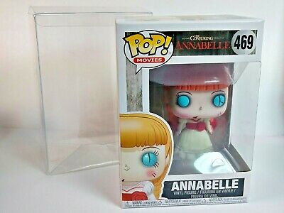 Annabelle Funko POP! Movies Vaulted #469 Horror The Conjuring W/Pop Protector