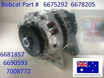 Bobcat Alternator 6675292 6678205 6681857 Kubota Deutz Lester 12390 Ta000A48401