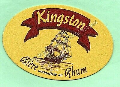 sous-bock  KINGSTON  bierdeckel coaster bierviltje beermat sb1090