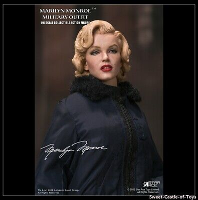 1/6 Star Ace Toys Marilyn Monroe Military Outfit Collectible Figure SA0055