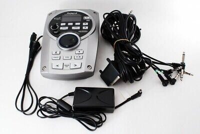 Roland TD-15 V Electric Drum Sound Module And Cords Drum Brain MIDI [Very good]