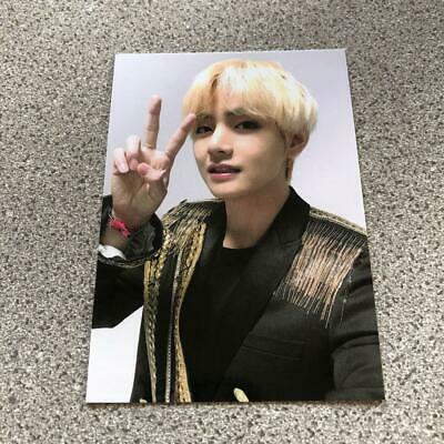 BTS V taehyung WORLD TOUR LOVE YOURSELF SPEAK YOURSELF JAPAN Photo Card a4