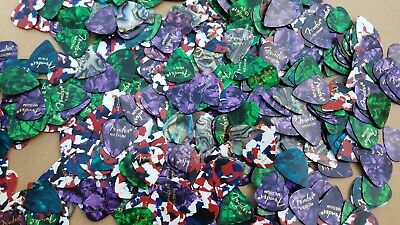 50 Lot of Fender Guitar Picks Premium Classic Celluloid Thin Medium Heavy Gauge