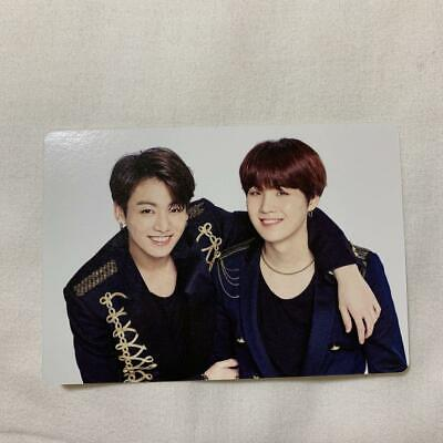 BTS SUGA JUNGKOOK WORLD TOUR LOVE YOURSELF SPEAK YOURSELF JAPAN Photo Card