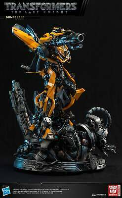 DAMTOYS CS013 Transformer 5 The last Knight Bumble Bee Light Up Statue Toy