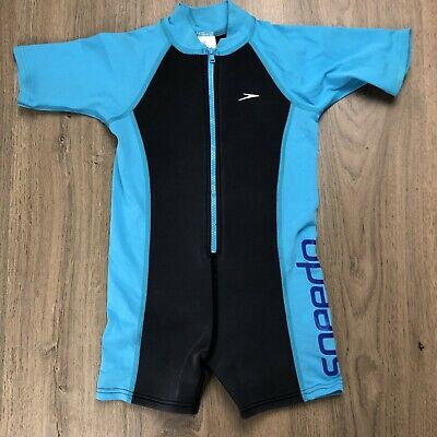 Speedo Boys Wetsuit Swimsuit Sz 6 Well Loved  See Photos B7