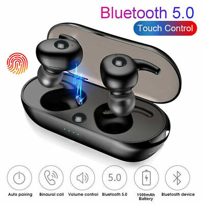 Mini TWS Wireless Bluetooth 5.0 Earphones Stereo Earbuds Headphones For Phone