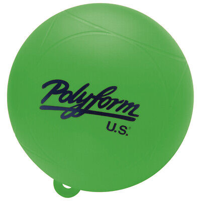"""BUOY A SERIES RED 218 A1R 11/"""" DIAMETER HEIGHT 15/"""" POLYFORM EYE 1/"""" BOATINGMALL"""
