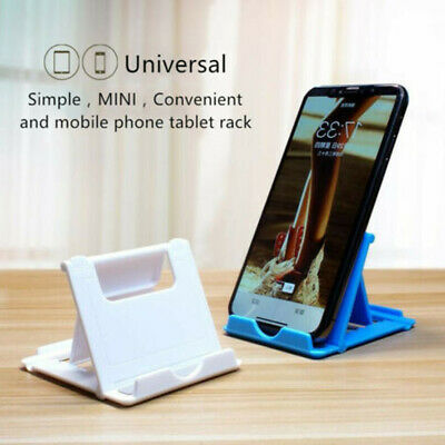 Portable Table Desktop Mobile Cell Phone Adjustable Holder Mount Stand Foldable