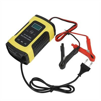 Intelligent 12V Motorcycle Battery Charger Automatic Smart Trickle Lead-Acid HA