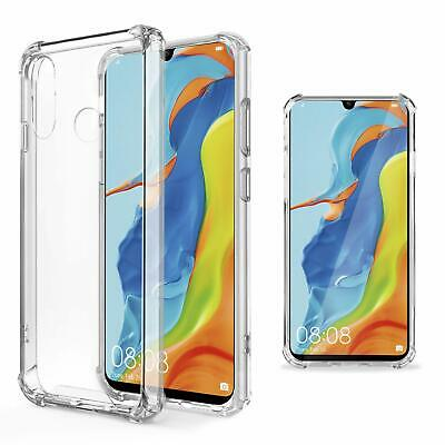 For Huawei P30 Lite Transparent Shockproof Heavy Duty Soft Clear Gel Case Cover