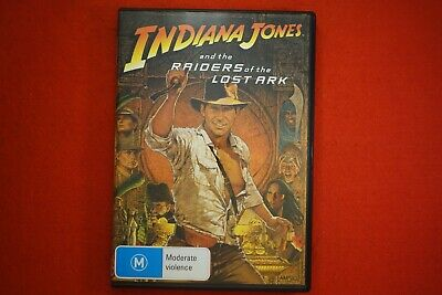 Indiana Jones and the Raiders of the Lost Ark - DVD - Free Postage!!