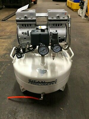 Titan 22L Low Noise Quiet Oil Free Air Compressor 240v *Fast & Free Delivery*