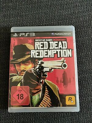 Red Dead Redemption Playstation 3 PS3 mit Anleitung OVP