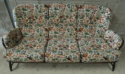 Vintage Ercol Jubilee 3 seater sofa