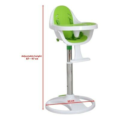 Durable Baby Feeding High Chair with Adjustable Height