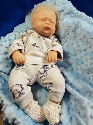 Reborn full body silicone baby
