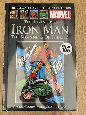 marvel ultimate graphic novel collection vol 106 IRON MAN: BEGINNING OF THE END