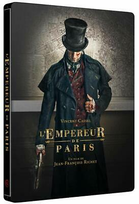 L'empereur De Paris Steelbook  Blu Ray  Neuf Sous Cellophane