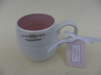 Portmeirion by Sophie Conran Honey Pot Pink Mug, New with label.