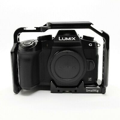 Panasonic LUMIX G85 16.0MP Black (Body Only) Smallrig Cage, Extra battery, *Mint