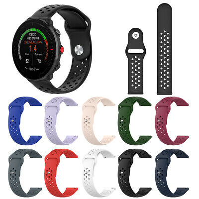 For Polar Vantage M replacement Breathable Soft Silicone Watch Band Wrist Strap