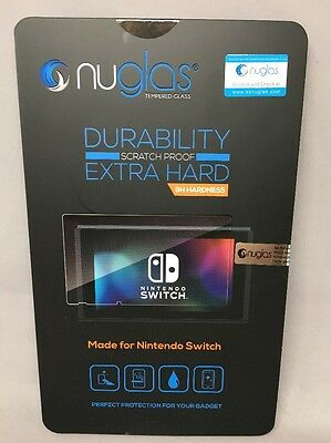 Nuglas Nintendo Switch Tempered Glass Screen Protector - FAST SHIPPING - FROM US