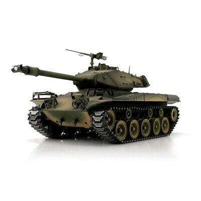 1:16 Torro US M41 Walker Bulldog RC Tank Airsoft 2.4GHz Metal Gear & Tracks