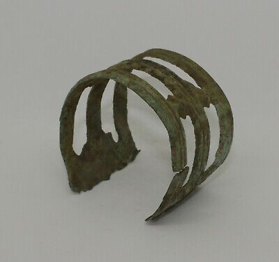Superb Ancient Celtic Bronze Bracelet  - Circa 50Bc