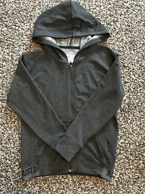 Girls Nike Dri Fit Hoodie Tracksuit Top Size Small Age 8 9 10
