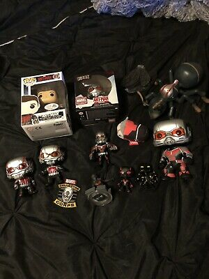 Lot Of Ant Man Marvel Action Figures Funko Pop Rare Exclusive Comic Con