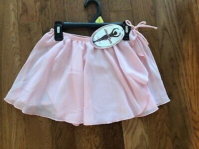 New With Tags MORET Girls PINK Dance Ballet Skirt Size Large