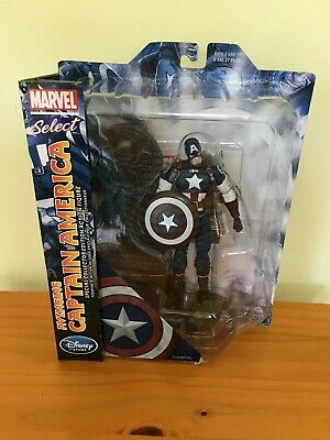 "Marvel Select Disney Store Avenging Captain America 7"" Action Figure"