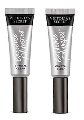 2 VICTORIAS SECRET Extreme PLUMPER *CRYSTAL CLEAR* FULL SIZE, + FREE SHIPPING