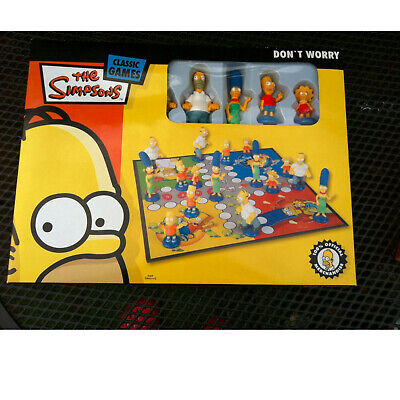 The Simpsons Brettspiel Don`t worry Neu