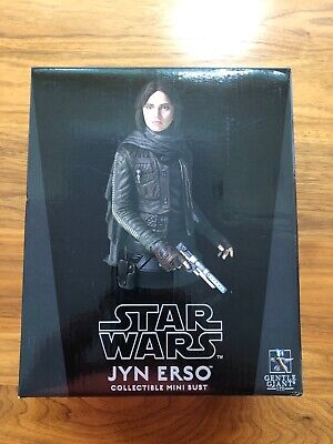 "Star Wars Rogue One Gentle Giant ""JYN ERSO"" Mini Bust (2052 Of 3000)"