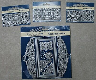 Tattered Lace Cherished Pocket And Panel Bundle  + Free P & P