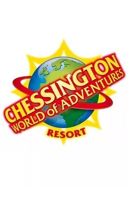 2 X Chessington World Of Adventures Tickets Wednesday 4th September, 2019 (4/9)