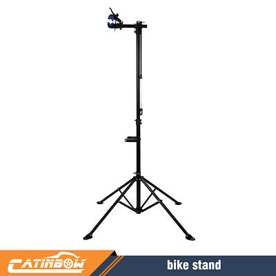 """Pro Bike Adjustable 42"""" To 74'' Cycle Bicycle Rack Repair Stand w/ Tool Tray US#"""