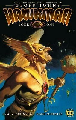 Hawkman by Geoff Johns TP Book One by Geoff Johns Paperback Book Free Shipping!