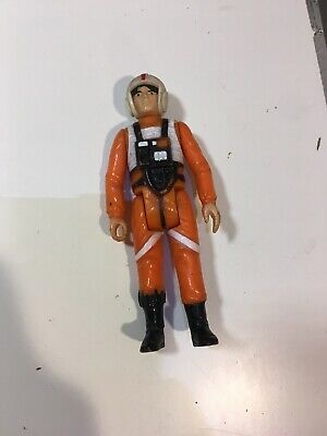 Vintage 1978 Star Wars ANH Luke Skywalker X-Wing Pilot Incomplete Hong Kong