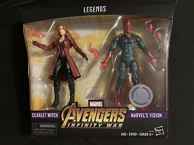 Marvel Legends Avengers Infinity War TRU Exclusive Vision Scarlet Witch 2 pack
