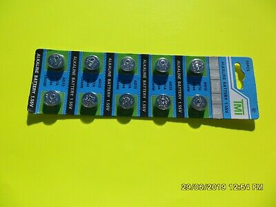 20 X Ag13 Lr44 1.55V Alkaline Button Cell Batteries Battery T Ab