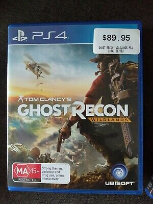 Tom Clancy's Ghost Recon Wildlands PS4 Game (Play Station)